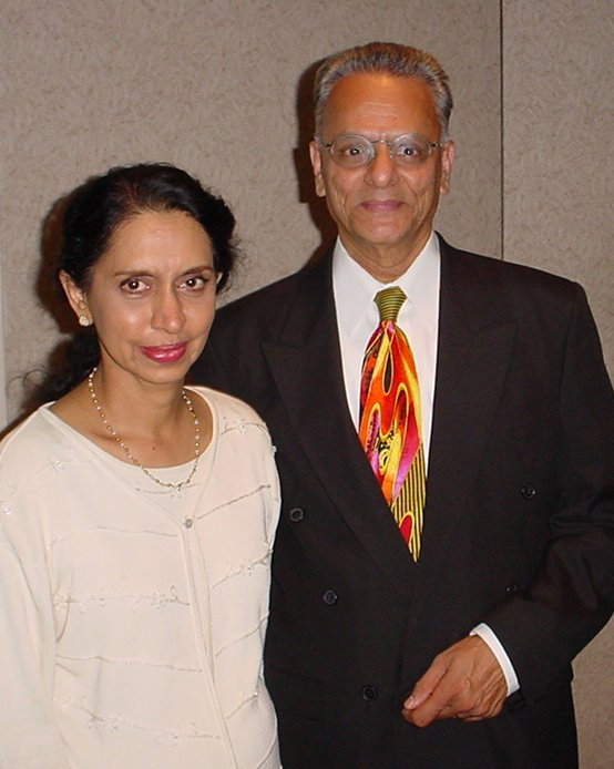 Kris and Dr. Revathy Murthy